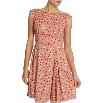 Closet Pink Balloon Printed Dress
