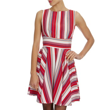 Closet Red/White Striped Dress
