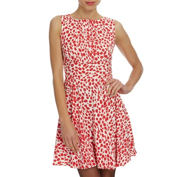 Closet Red/White Spotted Dress