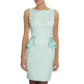 Closet Mint Peplum Shaped Dress