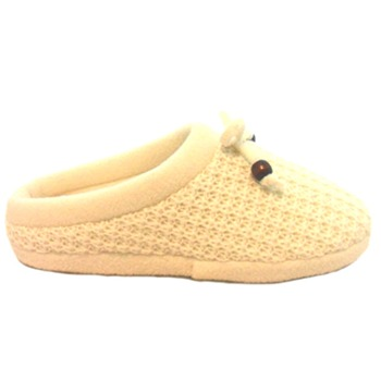 Krush Cream Knitted Mules