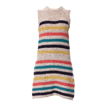 Little Marcel Robe Ravina beige et multicolore