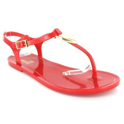 Love Moschino JA1637 TONGS ROUGES Chaussure France_v12552