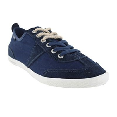 Peopleswalk GRANT POLYCANVAS BASKETS MODE BLEU MARINE Chaussure France_v2141