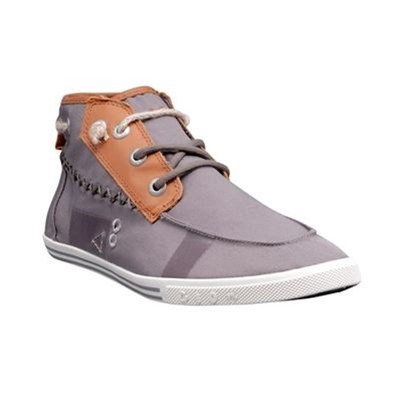 Peopleswalk TENNIS/BASKETS/SNEAKERS PEOPLESWALK GENNAKER 0052M GRIS TEXTILE GOMME GRIS Chaussure France_v3026