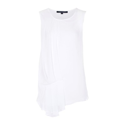 French Connection FLORRIE TOP BIANCO