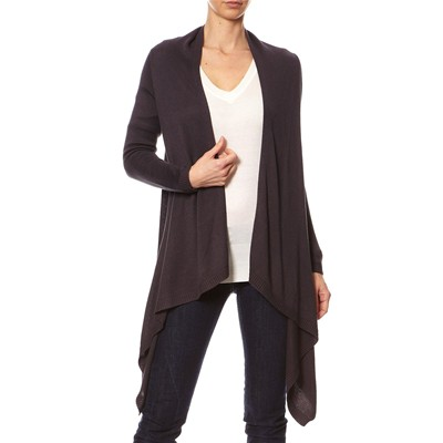 Cashmere 4 ever CARDIGAN ANTRACITE