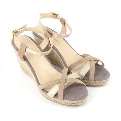 1757324 Taupe Mellow Vepeps Yellow Synthétique Cuir En Sandales 00SpqxRw