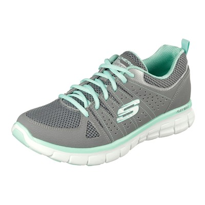 Skechers SYNERGY LEDERSNEAKERS GRAU