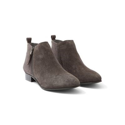 Somewhere GOSPER BOOTS EN CUIR GRIS Chaussure France_v14919