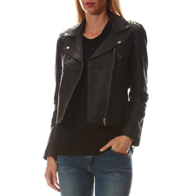 On you GIACCA IN PELLE NERO