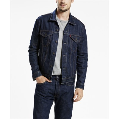 Levi's THE TRUCKER GIACCA BLU JEANS
