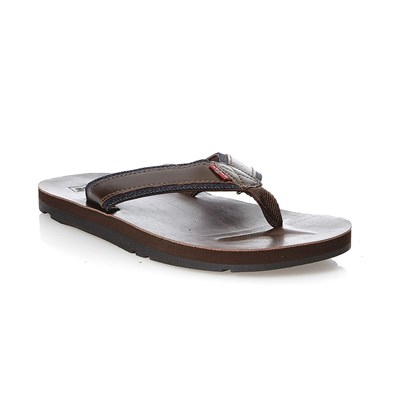 Levi's JURUPA TONGS MARRON Chaussure France_v794