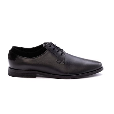 Dillinger SUBWAY DERBIES EN CUIR NOIR Chaussure France_v9168