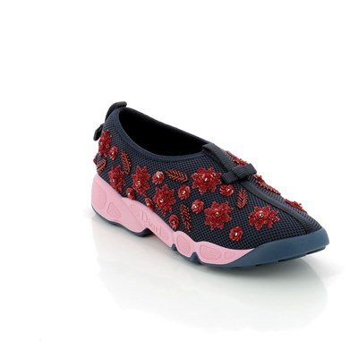 Dior SNEAKERS IN PELLE BICOLORE