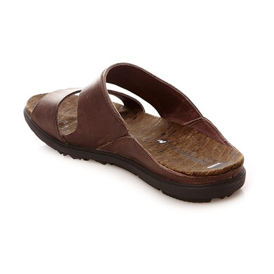 En Town 2474289 Slide Brun Around Synthétique Merrell Sandales Cuir RqI5g