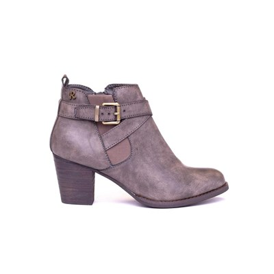 Boots 2519091 Gris 62124 Synthétique Xti Bottines SY4q1wnP