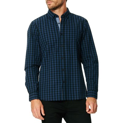 Best Mountain CAMICIA BLU GREZZO