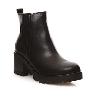 Noir Bottines Synthétique Buffalo 2479028 Boots FnEqYTwv