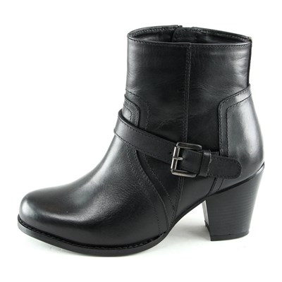 Ornella Dutti ALICIA BOTTINES EN CUIR NOIR Chaussure France_v8501