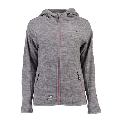Geographical Norway GIACCA PILE GRIGIO TOPO