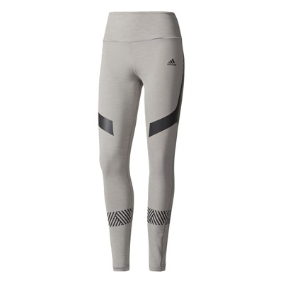 adidas Performance ULT TIG HEA LEGGINGS GRIGIO