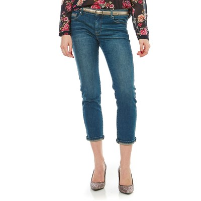 Best Mountain JEANS DRITTO BLU JEANS