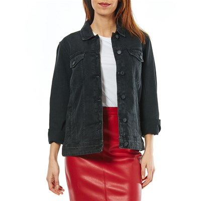 Noisy May MOLE GIACCA IN JEANS NERO