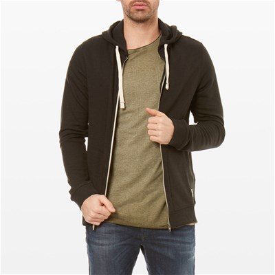 Jack & Jones RECYCLE FELPA NERO