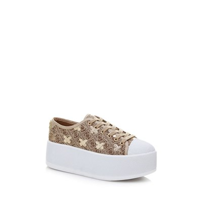 Guess BOOMER SNEAKERS À PLATEFORME MULTICOLORE