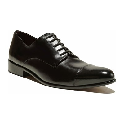 Thomas Blake BRYCE DERBIES EN CUIR NOIR Chaussure France_v9409