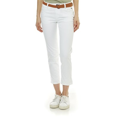 Best Mountain JEANS DRITTO BIANCO