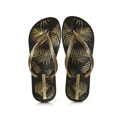 Ipanema ANAT NATURE II TONGS NOIR Chaussure France_v1192