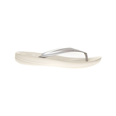 Chaussures Femme | FitFlop TONGS ARGENT