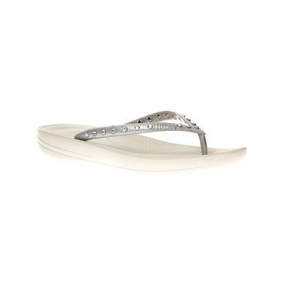 FitFlop TONGS ARGENT Chaussure France_v4965