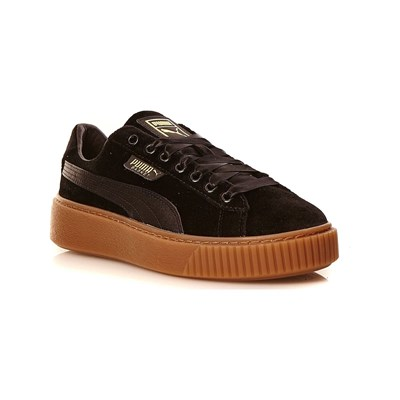 Puma PLATFORM VS WNS BASKETS EN VELOURS NOIR