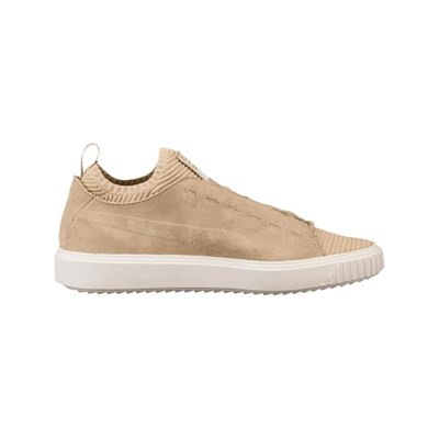 Knit Cuir Caoutchouc En Puma Sunfaded Beige 2830774 Breaker Baskets 5q4U4