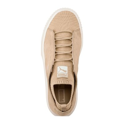 2830774 Puma Beige Cuir Breaker En Knit Caoutchouc Sunfaded Baskets v8vqw
