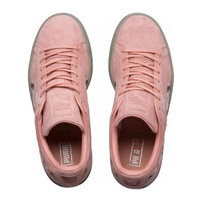 Rose Baskets Synthétique Irreg Puma Suede 2830786 En Cuir OqxXE1Uw