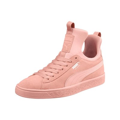 Brillante Puma SUEDE FIERCE SNEAKERS BASSE ROSA