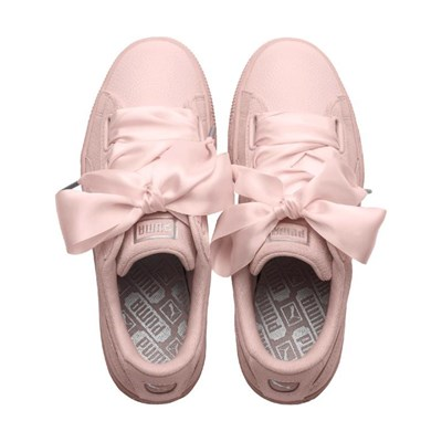 En 2830812 Suede Caoutchouc Baskets Bubble Puma Heart Rose Cuir RpqUfIx