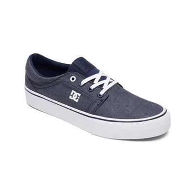 DC Shoes BASKETS BASSES BLEU