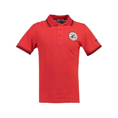 Geographical Norway KAMELO 100 POLO MANICHE CORTE ROSSO