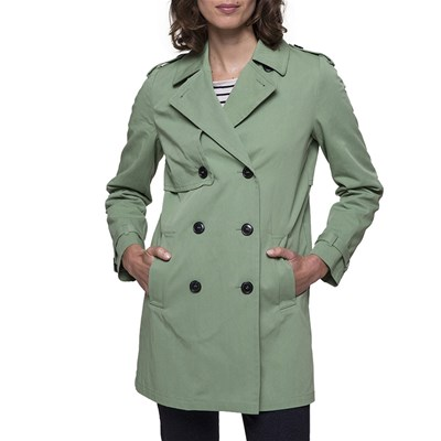Trench and coat SIEGE TRENCH VERDE