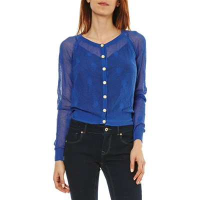 Repetto VIOLA CARDIGAN BLU