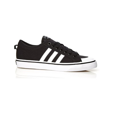 adidas Originals NIZZA LOW SNEAKERS SCHWARZ