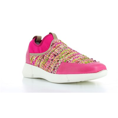Elizabeth Stuart GOA BASKETS BASSES FUCHSIA Chaussure France_v2901