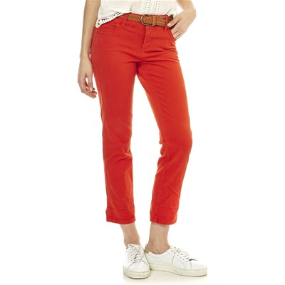 Best Mountain JEANS DRITTO ROSSO