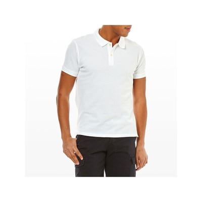 Pepe Jeans London VINCENT POLO MANICHE CORTE BIANCO