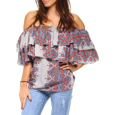 Glamour Paris AMELIE TOP MULTICOLORE